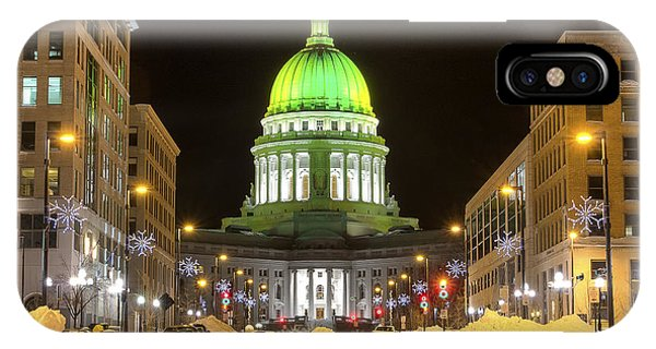 Madison Capitol IPhone Case