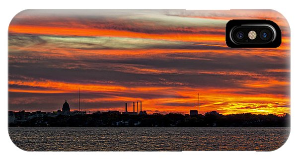 Madison - Skyline Sunset IPhone Case
