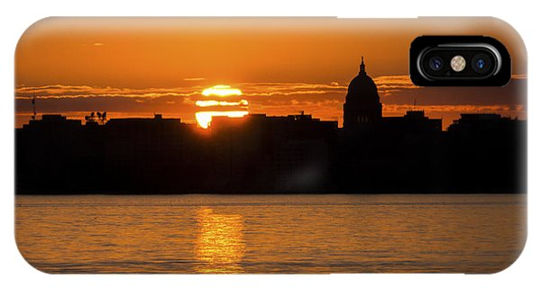 Madison Sunset IPhone Case