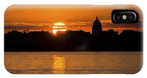 Madison Sunset IPhone Case
