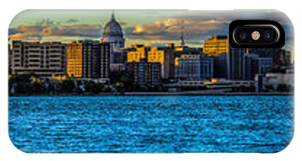 Madison Twilight Panorama IPhone Case