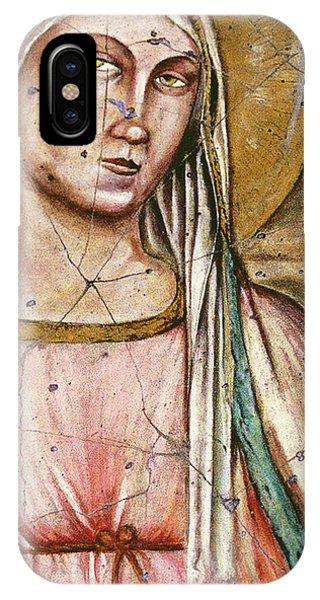 Bogdanoff iPhone Case - Madonna Del Parto - Study No. 1 by Steve Bogdanoff