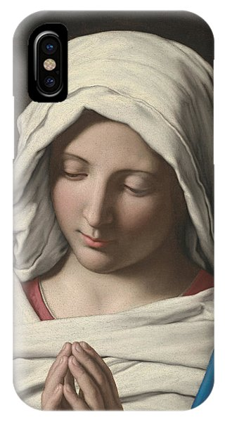 Madonna In Prayer IPhone Case
