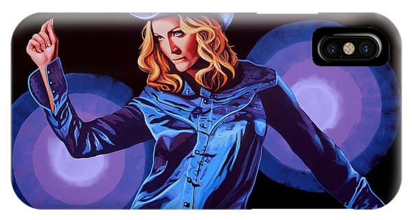 Prayer iPhone Case - Madonna Painting by Paul Meijering