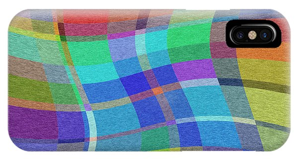 Madras Twist IPhone Case