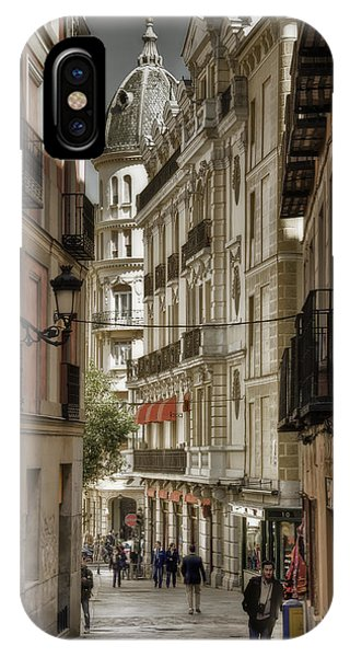 Madrid Streets IPhone Case