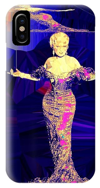 Mae West. Ladies Embrace Your Curves IPhone Case