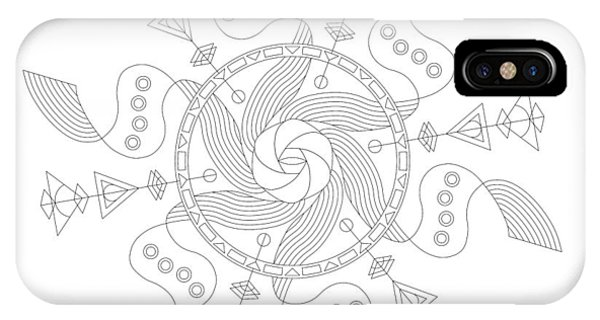 Wood Carving iPhone Case - Maelstrom by DB Artist
