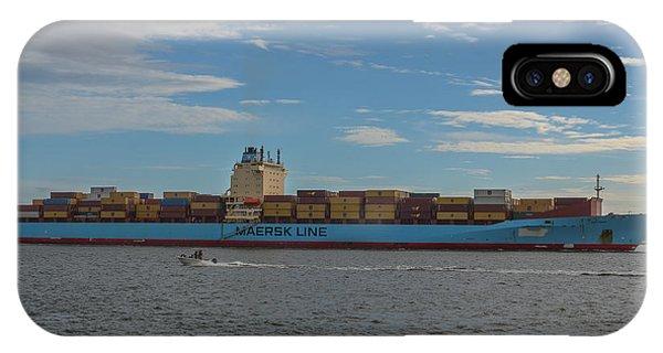 Ocean Going Freighter IPhone Case