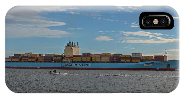 Ocean Going Freighter IPhone Case