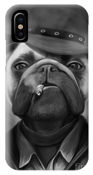 Mafia Dog Phone Case by Ivan  Pawluk