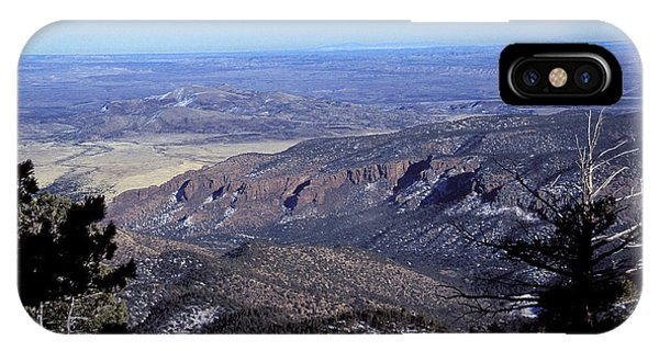 Magdalena Mountains - Socorro - New Mexico IPhone Case