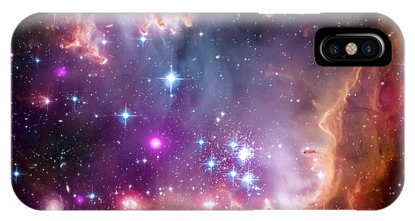 Space iPhone Case - Magellanic Cloud 3 by Jennifer Rondinelli Reilly - Fine Art Photography