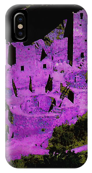Magenta Dwelling IPhone Case