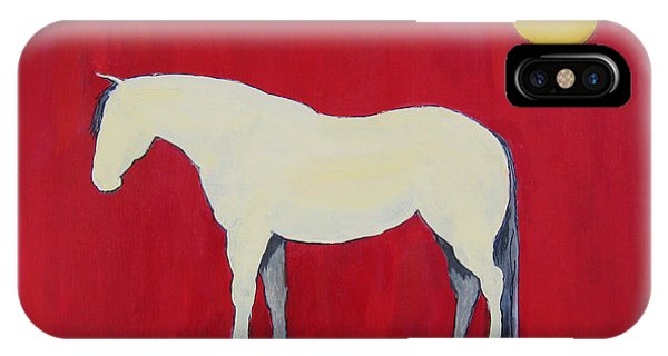 Maggie The Horse In The Moonlight IPhone Case