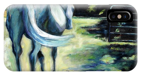 Maggie The Horse In The Pasture IPhone Case