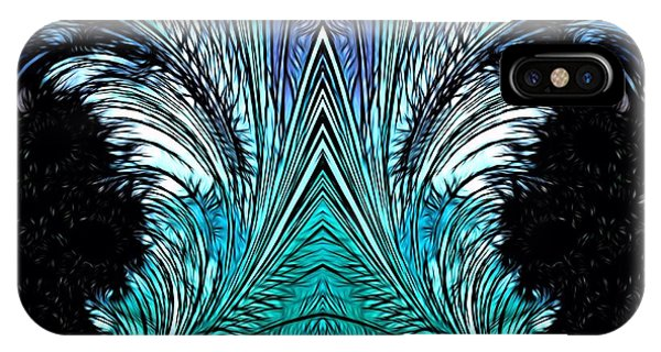 IPhone Case featuring the digital art Magic Doors by Jeff Iverson
