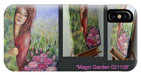 Magic Garden 021108 Comp IPhone Case