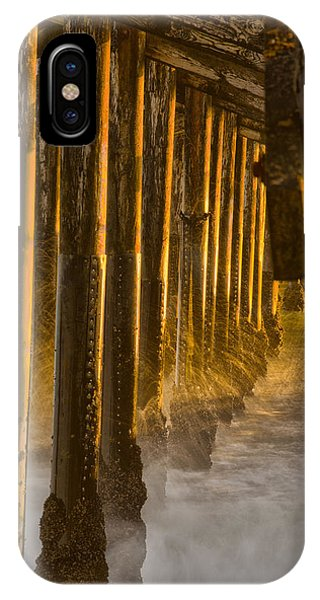 Magic Hour Under Seal Beach Pier IPhone Case