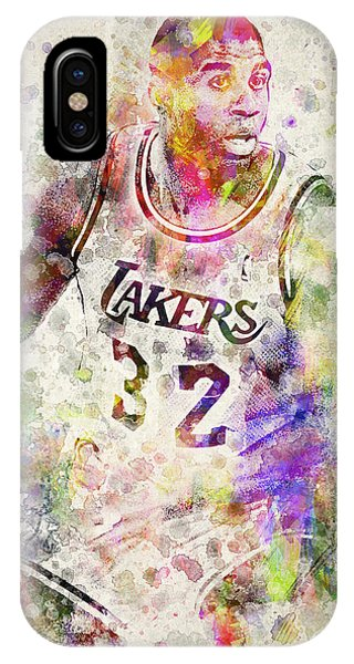 Magic Johnson IPhone Case
