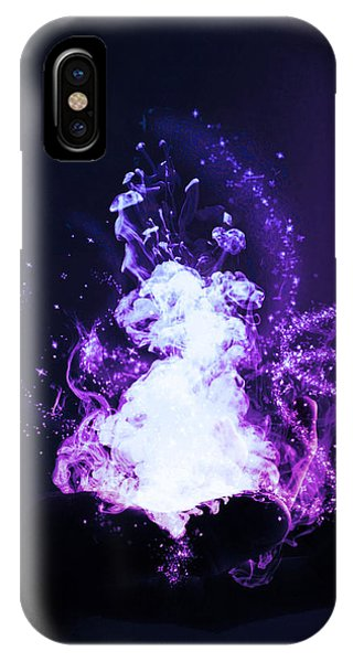 Wizard iPhone X Case - Magic by Nicklas Gustafsson