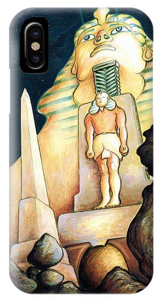 Magic Vegas Sphinx - Fantasy Art Painting IPhone Case