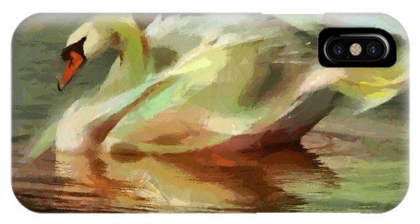 Magic Swan IPhone Case