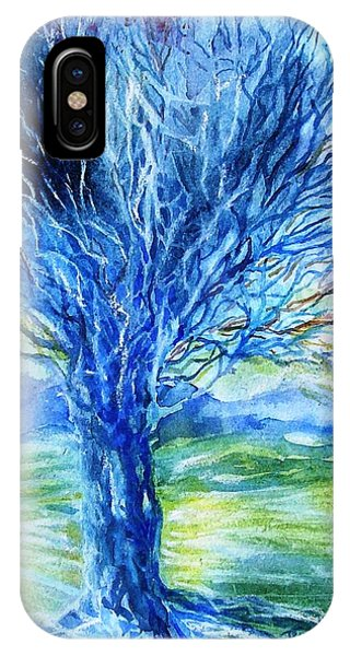 Magic Thorn Tree The Celtic Tree Of Life IPhone Case