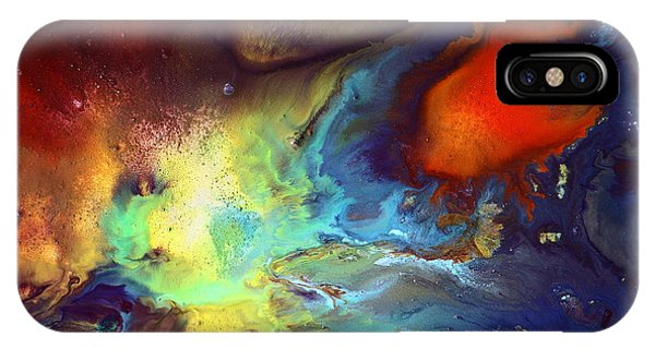 Magic Variety - Contemporary Liquid Abstract Art By Kredart IPhone Case