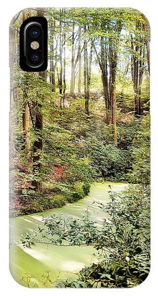 Magic World Of Botanic Gardens IPhone Case