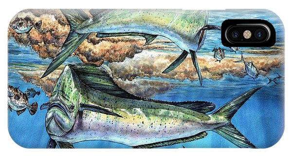 Magical Mahi Mahi Sargassum IPhone Case