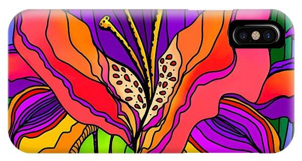 Magical Mystery Garden IPhone Case