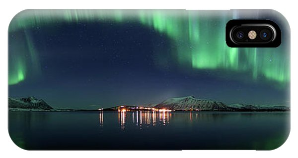 Panorama iPhone Case - Magical Night by Roy Samuelsen