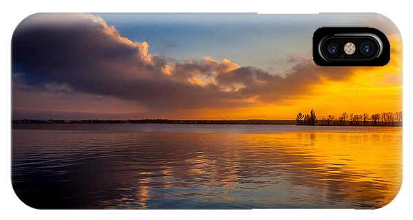 Magical Reflections Of Sundown IPhone Case