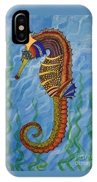 Magical Seahorse IPhone Case