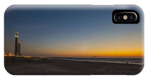 magical sunset moments at Caesarea  IPhone Case