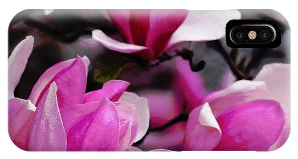 Magnolia Blossoms IPhone Case