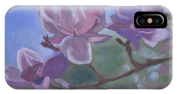 Magnolia Branch IPhone Case
