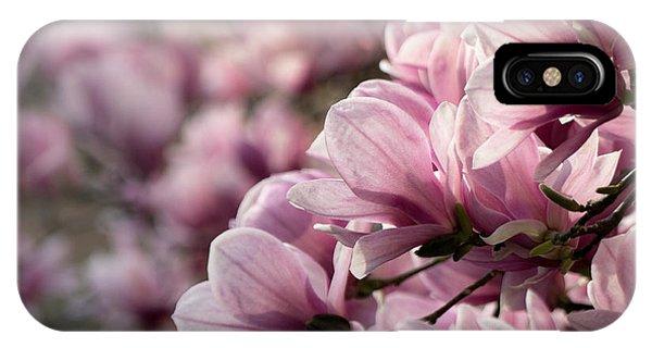 Magnolia Layers 2 IPhone Case