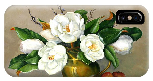 Magnolias - Southern Beauties IPhone Case