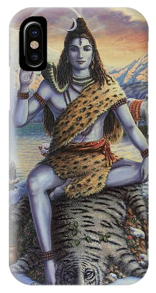 Mahadeva Shiva IPhone Case