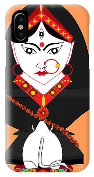 Mahagauri IPhone Case