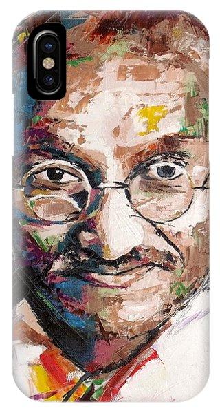 Mahatma Gandhi IPhone Case