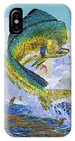 Bahamas iPhone Case - Mahi Hookup Off0020 by Carey Chen
