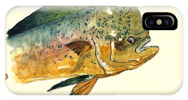Mahi Mahi Fish IPhone Case