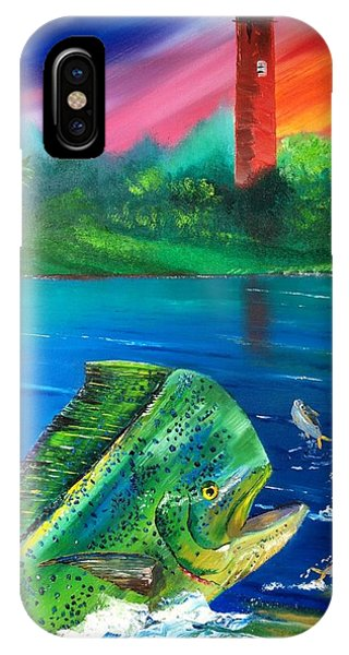 Mahi Mirror IPhone Case