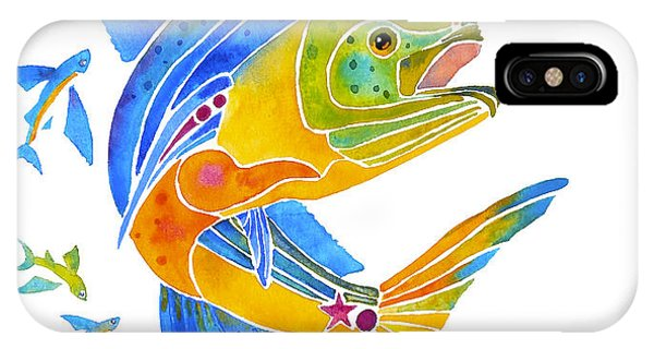Mahi Saltwater Fish Art Gifts IPhone Case