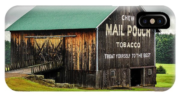 Mail Pouch Tobacco Barn IPhone Case