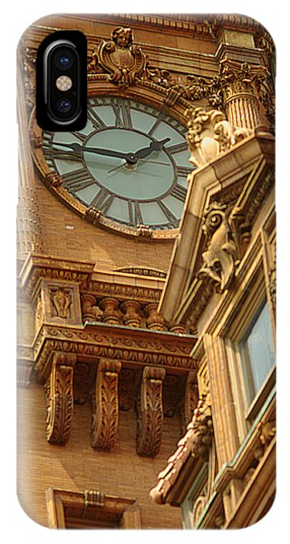 Main St Station Clock Tower Richmond Va IPhone Case
