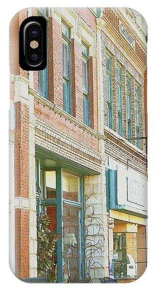 Main Street America Street Scene Photograph IPhone Case